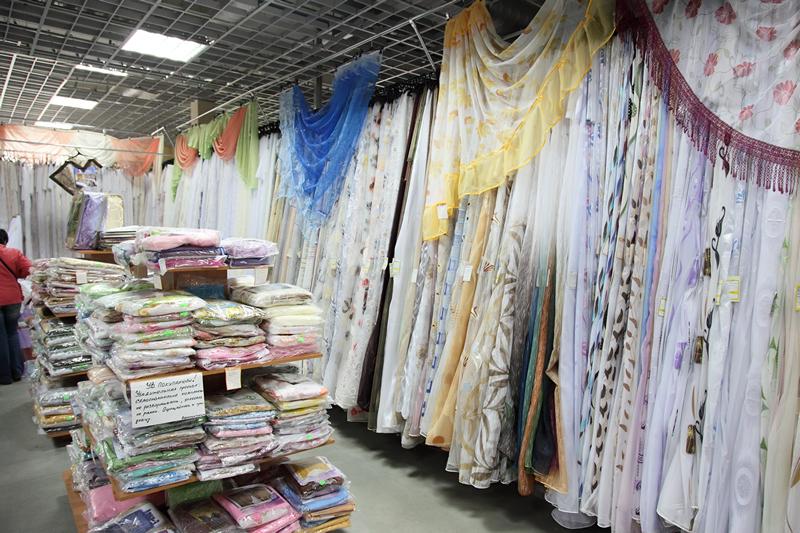 Текстиль в Люблино на рынке ТЯК Москва купить оптом недорого